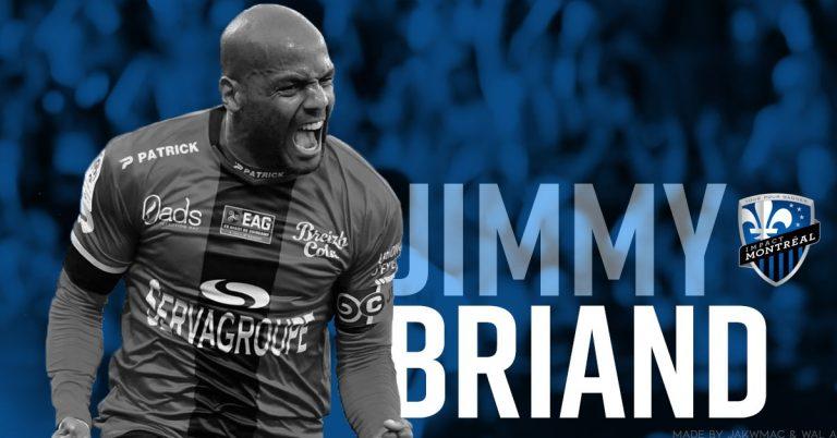 Jimmy Briand signe à l'Impact de Montréal