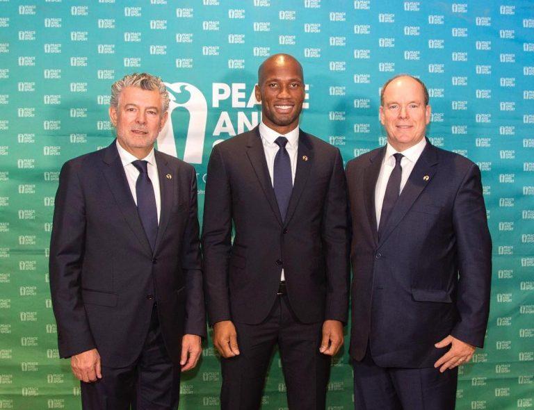 Football: Didier Drogba s'engage pour la solidarité