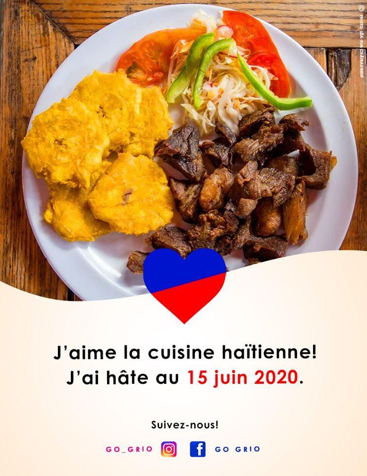J'aime la cuisine haitienne