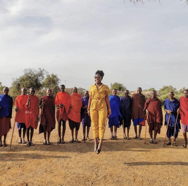 """""""10 mois 10 pays"""" menée par Sandy de la plateforme Abenafrica"""